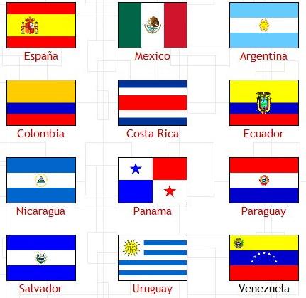 Страны мира с флагами где говорят по